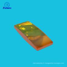 Lentille optique de ZnSe pour la découpeuse de laser de CO2