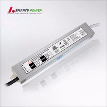 12 v 24 v ac a 100-265 v dc fuente de alimentación a prueba de agua voltaje constante 30 w led conductor