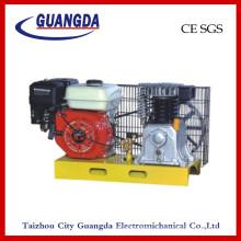 Compresseur d'air de la plaque de base de l'essence 5.5HP (DCV2055)