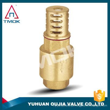 o handel sanitário da válvula de verificação do aço inoxidável com união do filtro forjou o corpo de bronze com a forma onw a alta pressão NPT conectou