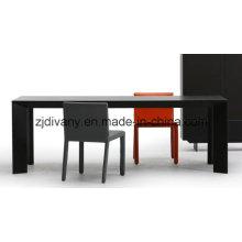 Table à manger en bois de salle à manger (E-36)