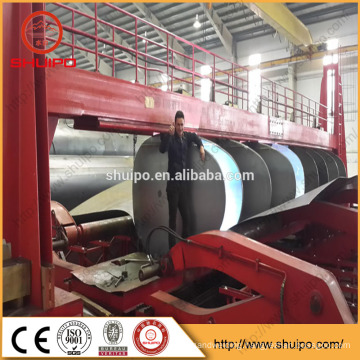 tank rolling machine for fuel tank