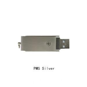 silver usb flash drive