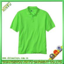 Hot Sell Homem 100% Algodão Polo Polo T (XY0069)