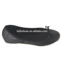 2014 a sapata a mais melhor do ballet da sapata da senhora feita em sapatas pretas da porcelana