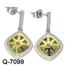 Joyería de moda 925 pendientes de plata esterlina