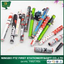 Дешевые рекламные товары Китай Печать шариковая ручка
