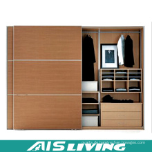Holzmaserung Schlafzimmer Kleiderschrank Schrank (AIS-W237)