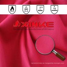 100% algodón retardante de llama y tela antiestática
