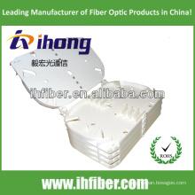 24 fendas de fibra óptica splice bandeja