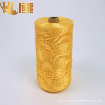cable submarino bobinado amarillo hilado de pp