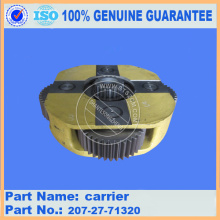 Komatsu PC300-7 carrier 207-16-71581 for swing machinery parts
