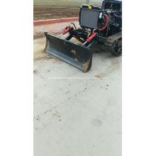 Tractor de orugas de caucho agrícola de alta calidad en Perú