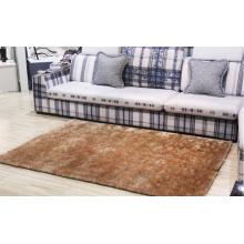 Good Quality New Arrival Polyester Silk Plain Carpet
