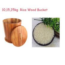 Acacia madeira cónica forma caixa ric