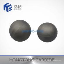 Unterschiedliche Größe von Hartmetallkugel und Sitz