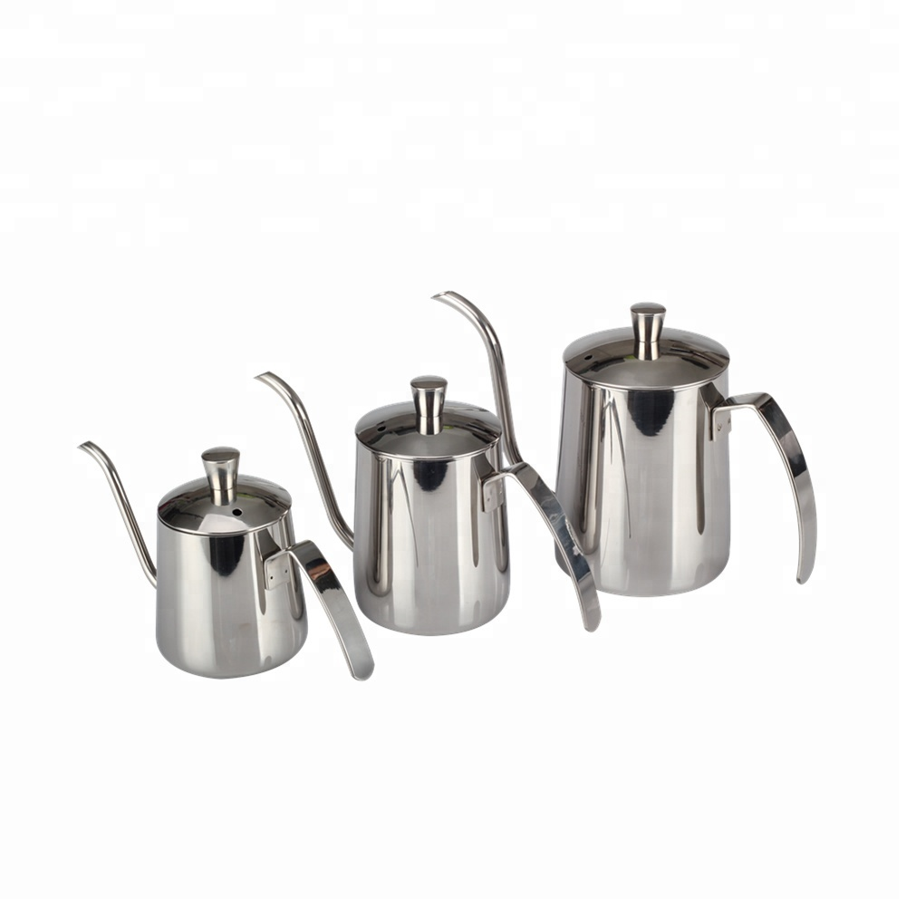 Stainless Steel Pour Over Drip Kettle With
