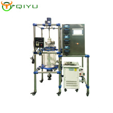 10L Customized lithium battery reactor universal glass reactor chemical jacketed reactor