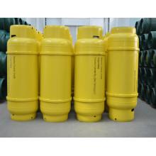 100L carbono aço média-baixa pressão soldada bilha para o líquido, amônia