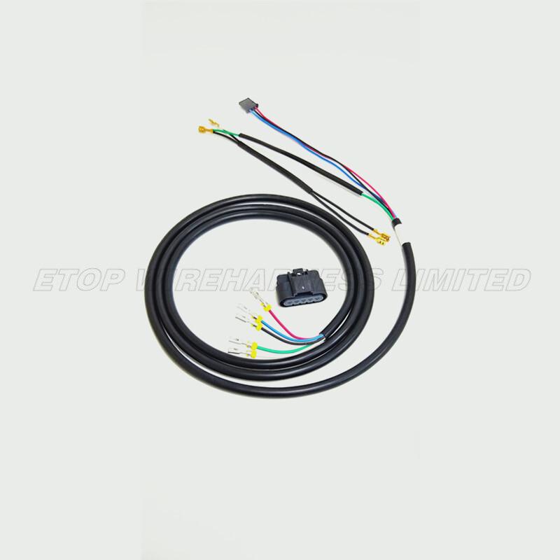 wire harness for auto mirror
