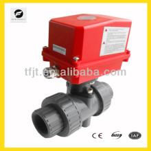 Atuador UPVC em miniatura Válvula de 2 vias para águas pluviais e reutilização de sistema de água cinza