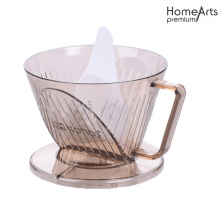 PLASTIC POUR OVER COFFEE DRIPPER COFFEE FUNNEL