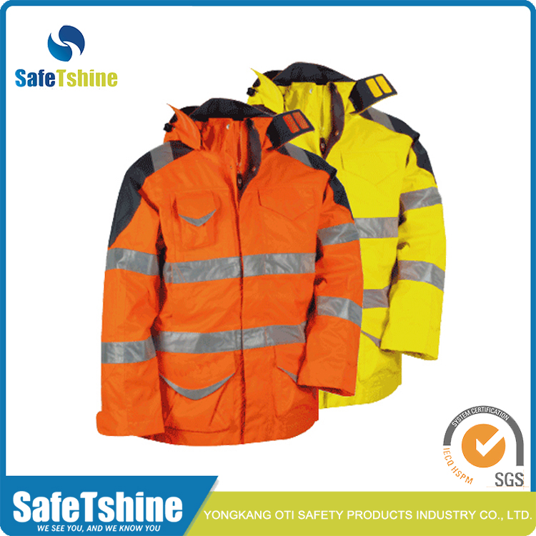 Safety Reflective Jacket Heavy
