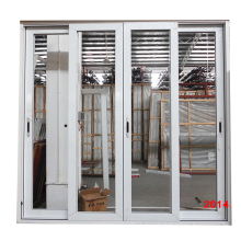Modern new house design cheap price aluminium alloy frame used sliding glass doors sale