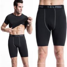 Pantalones cortos de compresión para hombres Pantalones deportivos de entrenamiento Leggings de entrenamiento