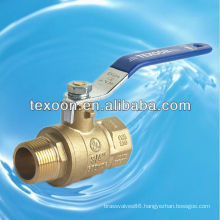 600 WOG Full Port Brass or Low Lead Brass Ball Valve with lever handle