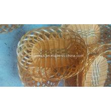 High Quality Fake Rattan Wicker Plastic Basket; Fruit Basket; Bread Basket; Food Basket