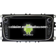 ¡Reproductor de DVD del coche, fábrica directamente! Pantalla capacitiva androide quad core, GPS / GLONASS, OBD, SWC, wifi / 3g / 4g, BT, para Mondeo / s-max