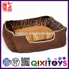 Wholesale professional production high quality cute home dog kennel for sale with soft fabric