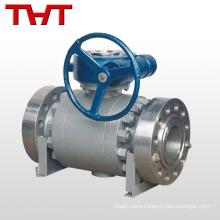 Reliable sealing fixed ball valve