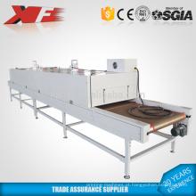Grande secador a vácuo de correia transportadora infravermelha para venda / secador de esteira de impressão da tela / forno de secagem de túnel