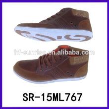 Los nuevos zapatos italianos con estilo del vestido del estilo calzan los zapatos italianos baratos del deporte de los hombres de los zapatos