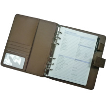 Cambio de carpeta de archivo de color PU, planificador, organizador, (EA6-004)