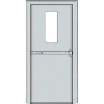 Fire exit steel door