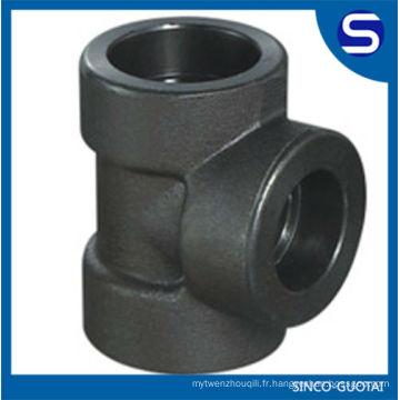 Raccords de tuyauterie en acier au carbone forgé / raccord de tuyau en acier forgé /