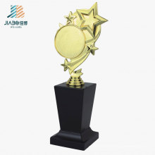 Troféu feito sob encomenda da estrela do ouro do presente relativo à promoção de 26.5 * 10cm China em ofícios do metal