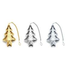 Weihnachtsbaum-Tee-Ei