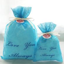 Подарочная сумка на день Святого Валентина с тиснением
