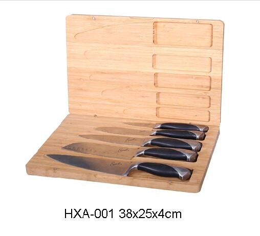 BAMBOO KNIFE BOX
