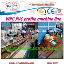 WPC Wood Plastic composite panel Profile Line