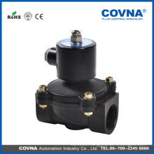 Covna two position two way diaphragm direct lifting brass solenoid valve/plastic solenoid valve