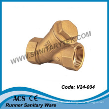 Y-Pattern Strainer Valve with S. S. Filter (V24-004)