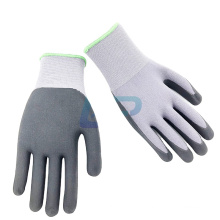 Top Quality 15G Nylon Spandex Liner Nitrile Foam Glove with EN388 4131X