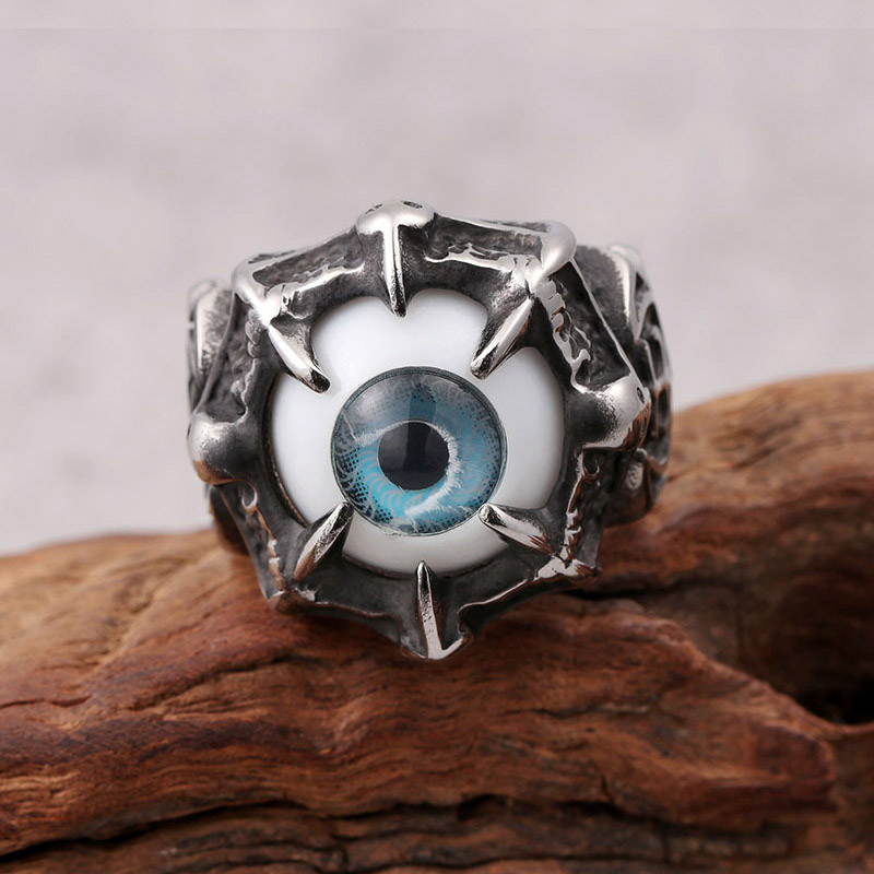 Mens Evil Eye Ring