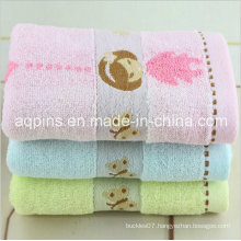 Custom Cotton Towel with Embroidered Logo (AQ-003)