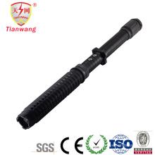 Polícia expansível lanterna LED Stun Gun